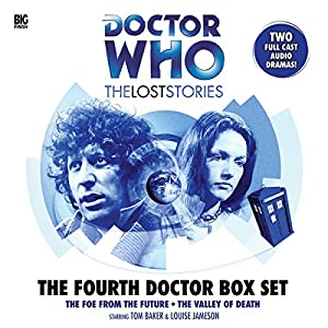 Doctor Who - The Lost Stories - The Fourth Doctor Box Set Radio/TV von Robert Banks Stewart, Philip Hinchcliffe, John Dorney, Jonathan Morris Gesprochen von: Tom Baker, Louise Jameson, Paul Freeman