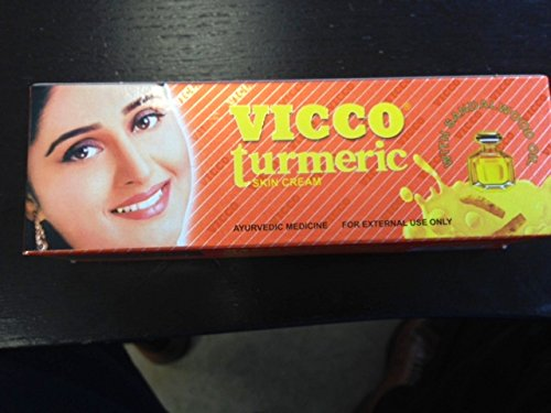 Vicco Turmeric Skin Cream with Sandalwood Oil -70g X 2 Pack (Vicco Turmeric Cream compare prices)