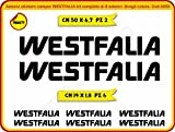 WESTFALIA 0059 - Adhesive Sticker Kit for Campervans, Caravans, Trailers (Colours Can Be Customised)