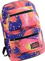 Unisex Girl Boys Retro Travel Backpack Canvas Leisure Bags School bag Rucksack
