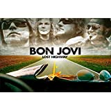 Paper Plane Design High Quality Bon Jovi Poster(18 X 12 ) Inch.Delivered In Free Re-usable Solid Cardboard Tube...
