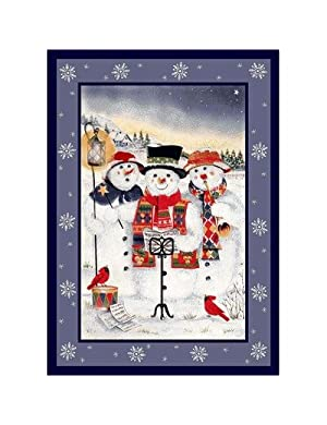 Click to buy Cabin Rugs:  Merry Minstrels Rug from Amazon!
