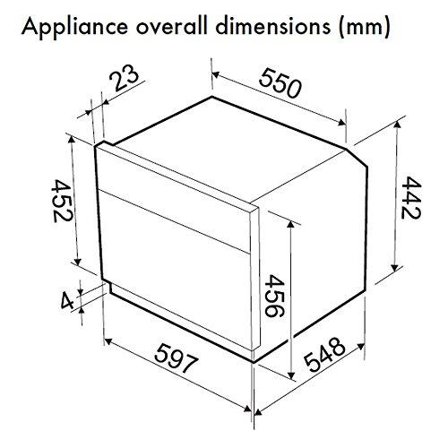 Smeg SF4120M Microwave Linea Built-in Combination Compact