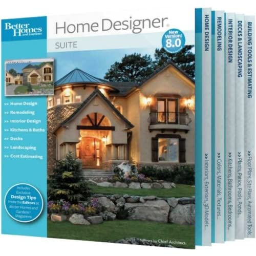 better homes and gardens home designer suite 8 0