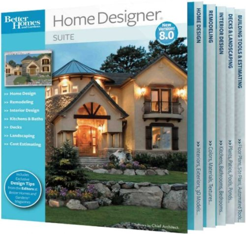 Better Homes and Gardens Home Designer Suite 8.0