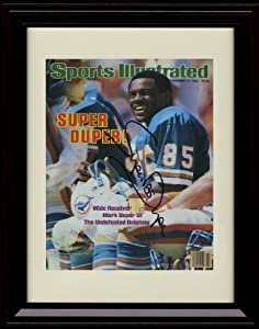 Framed Mark Super Duper Sports Illustrated Autograph Print - Miami Dolphins - 11 19... by Framed Sport Prints