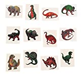 72 Dinosaur Temporary Tattoo Tattoos Stickers 2""