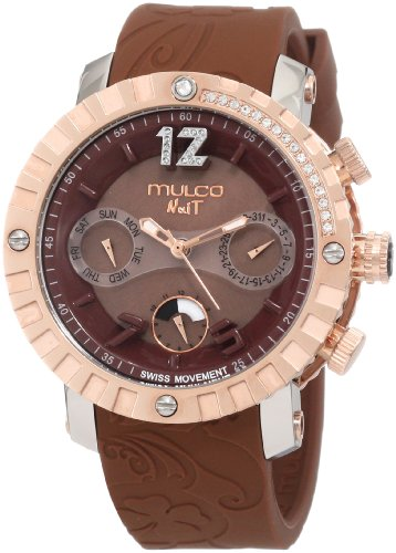 Mulco Unisex MW5-1622-033 Nuit Lace cron-grafo Swiss MoveCaballerot Reloj