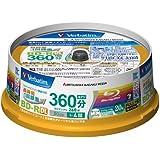 Verbatim Blu-ray Disc 20 Spindle - 50GB 4X BD-R DL for Video - Wide printable