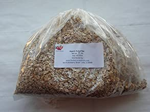 Rye Rolled Flakes Creamy Hot Cereal USDA Certified Organic Non-GMO 2 Pounds two lbs BULK