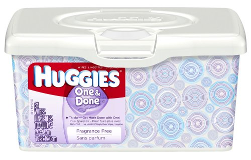Huggies One and Done Baby Wipes - 64 ct - 1