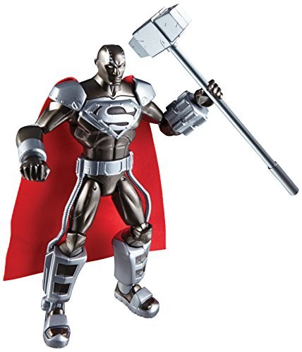 DC Comics Total Heroes Steel action figure (parallel import goods)
