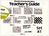 PHONICS PRACTICE READERS SERIES A SET 1, 10 READERS AND TEACHER GUIDE