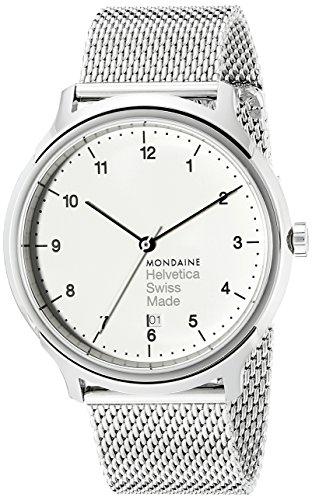 Mondaine Helvetica MH1R2210SM Reloj Pulsera para Hombres