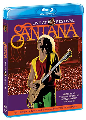 Blu-ray : SANTANA - Santana: Live At The Us Festival