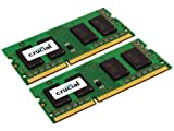 Crucial 8GB (2x 4 GB) 204 Pin SO DIMM DDR3 Memory