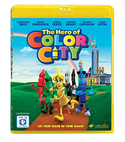 Blu-ray : The Hero of Color City (Blu-ray)