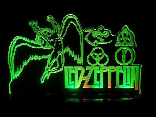 Led Zeppelin Led Desk Lamp Night Light Beer Bar Bedroom Game Room Signs front-1041772