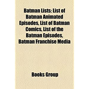 Amazon.com: Batman lists: List of Batman comics, List of Batman ...