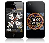 MusicSkins KISS - Rock And Roll Over Skin for Apple iPhone 4 / 4S