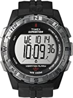 Timex Men's T49851 Expedition Rugged Digital Vibration Alarm Black Resin Strap Watch by Timex