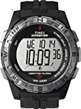 Timex Mens T49851 Expedition Rugged Digital Vibration Alarm Black Resin Strap Watch
