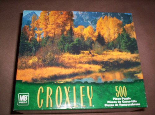 Croxley 500pc Puzzle-Snake River at Schwabacher Landing, WY, USA