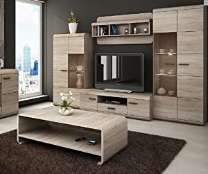 Amazon Furniture Living Room LUKA Modern Set TV Table Entertainment Unit TV