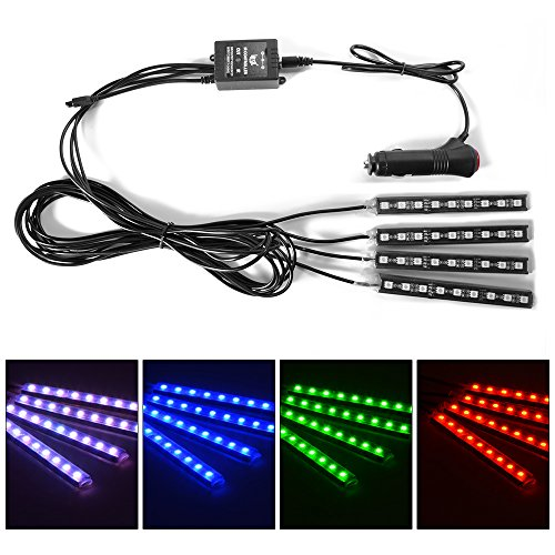 xcsource-4pcs-8-color-led-interior-footwell-lighting-kit-interior-atmosphere-neon-lights-strip-for-c