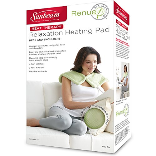 Sunbeam 885 911 Renue Heat Therapy Neck And Shoulder Wrap