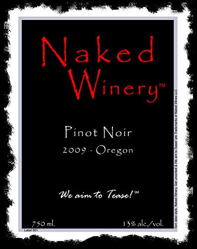 2009 Naked Winery Pinot Noir 750 Ml