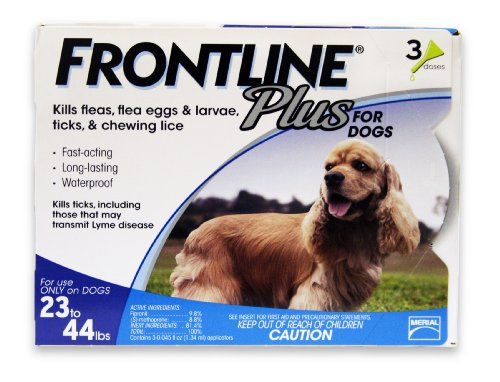 merial-frontline-plus-flea-and-tick-control-for-23-to-44-pound-dogs-and-puppies-3-doses