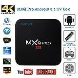 AKASO MXQ Pro 4K アンドロイド TV ボックス Android 5.1 HDMI 2.0 Amlogic S905 クアッドコア 1G/8G KODI Google スマート TVチューナー ランキングお取り寄せ