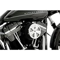 Vance & Hines VO2 Air Filter Cover - Skullcap Crown - Chrome 71017