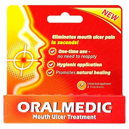 Oralmedic Mouth Ulcer Treatment 2Pk