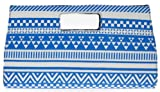 Womens Ladies Aztec Print Envelope Style Prom Party Evening Occasion Dressy Hand Clutch Bags - Q68