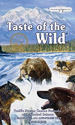 Taste of the Wild Dry Dog Food, Pacific Stream Canine Formula with Smoked Salmon, 30-Pound Bag by Taste of the Wild