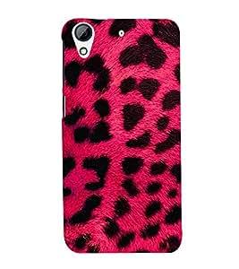 Vizagbeats Leopard skin texture Back Case Cover for HTC Desire 728g Dual::HTC Desire 728G::HTC Desire 728