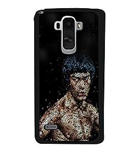 Famous Hollywood Action Hero 2D Hard Polycarbonate Designer Back Case Cover for LG G4 Stylus