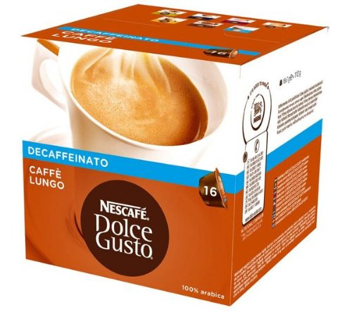 NESCAFE Dolce Gusto Caffè Lungo Decaffeinato (16 capsules)