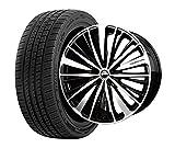 サマータイヤ・ホイール 1本セット 19インチ お勧め輸入タイヤ 245/40R19 + BADX(バドックス)