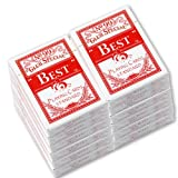 12 Decks Best Poker Club Special No.99 Diamond Back Paper Playing Card Red #9584x12#