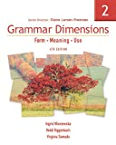 Grammar Dimensions 2: Form, Meaning, Use (1413027415) by Ingrid Wisniewska
