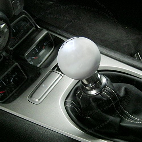 LT Sport SN#100000000757-0843-228 For VW Jetta 5 SPD Silver Round Shift Knob + Boot Cover (Vw Vanagon Transmission compare prices)