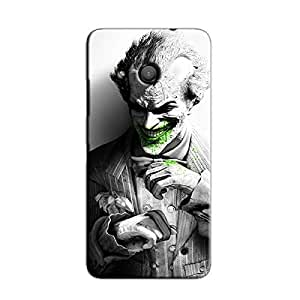 JOKER SMILING IN SUIT BACK COVER FOR MICROSOFT LUMIA 550
