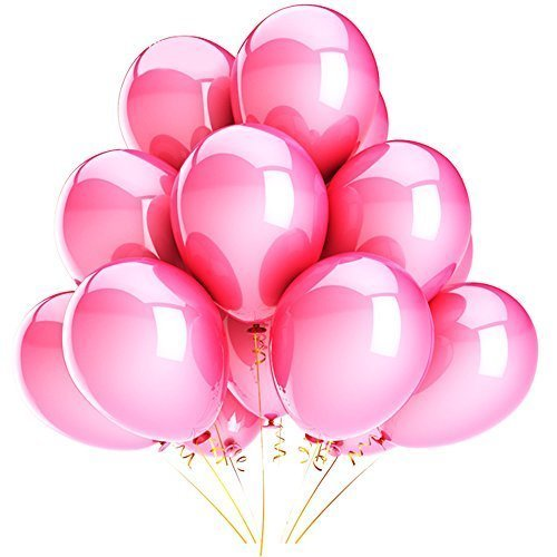 Syeer-100-pcs-Balloons-10-Inch-6-Latex-Kids-Boy-Girl-Children-Party-Activity-Campaign-Events-Celebrations-Promotions-Balloons-Pink