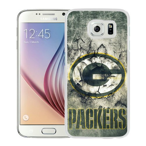 Samsung Galaxy S6 Green Bay Packers 30 White Shell Phone Case,Beautiful Look by Case inc