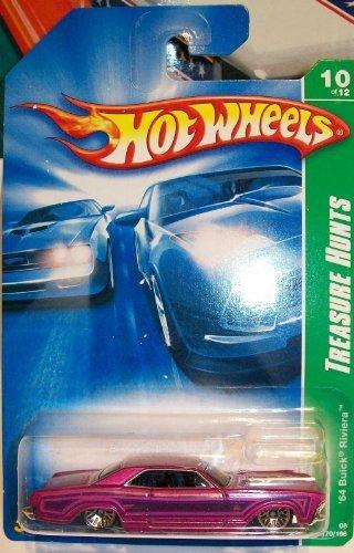 2008 Hot Wheels Treasure Hunt 10/12 - '64 Buick Riviera