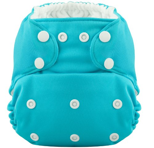 THE HERO Pocket Cloth Diaper (Aquamarine) by Coquí Baby