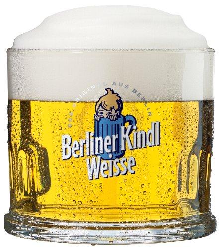 Sahm - Set da 24 boccali da birra Berliner Kindl Weisse, 0,3 l